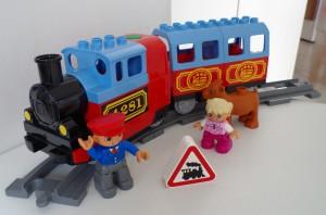 jeux de trains Duplo