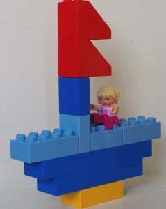 jeu construction voilier lego duplo