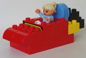 jeu construction bateau lego Duplo