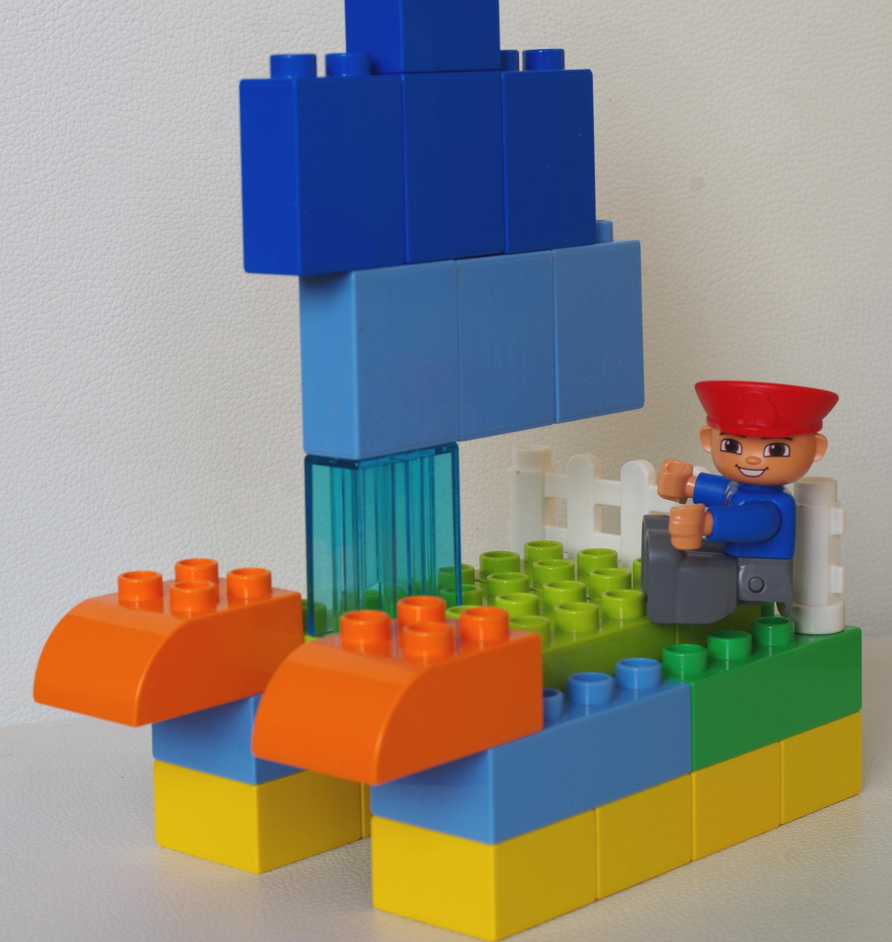 Bateau Lego Duplo - épisode 2 - Papa et moi
