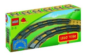jeux de trains Lego Duplo, construction extension rail