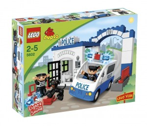 camion police lego duplo