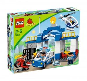 Le camion police lego duplo papa et moi - Lego city camion police ...