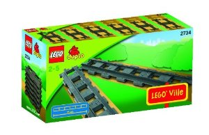 jeux de trains Lego Duplo, extension rails construction