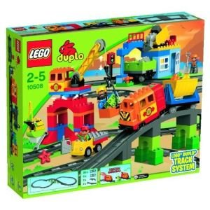 jeux de trains Lego duplo extension rail construction
