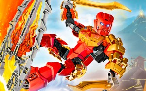 Lego Bionicle - personnage Tahu