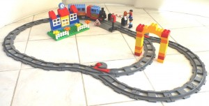 jeux de trains Lego Duplo extensions de rail