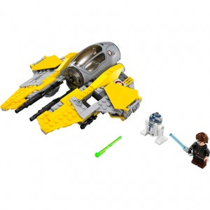 Lego star wars intercepteur jedi chez auchan